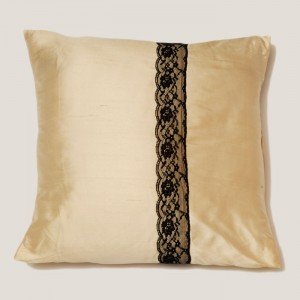 Bamboo Silk Lace Cushion