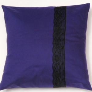 Purple Lace Cushion