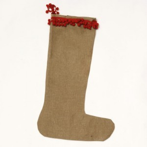 Children's Hessian stocking