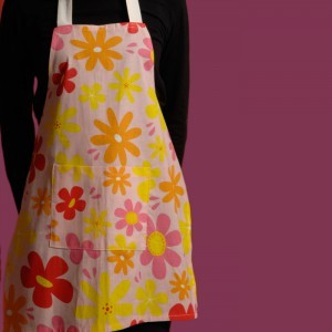 Child Floral Apron  7-14 Years