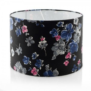 Midnight Floral Lampshade