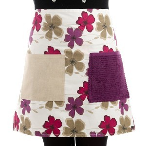 Pretty in Plum Adult Apron