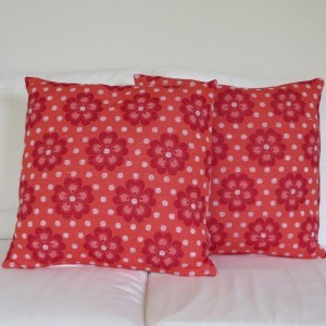 Rose Flower Power cushion