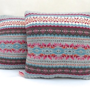 Nordic Cushion Soft Grey