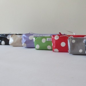 Small Dotty Cosmetic Bags