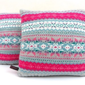 Nordic Cushion Soft Pink Grey