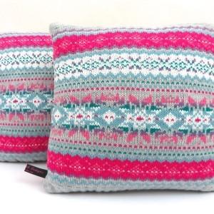 Nordic Cushion Soft Pink Grey
