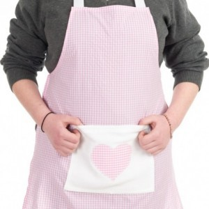Pink Bistro Childs Apron 7-14 years