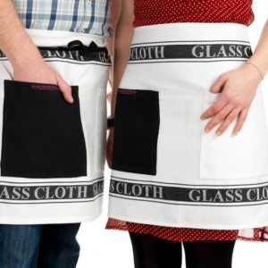 Glass Cloth Adult Half Apron