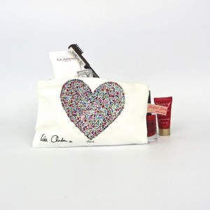 Ditsy Love Lipstick/Coin Purse