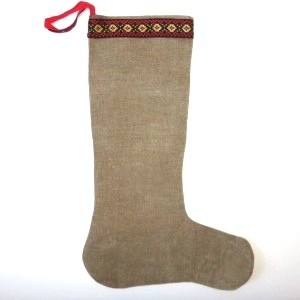 Children's Hessian Nordic stocking