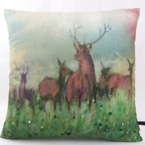 Norse Stag Cushion