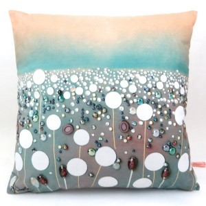 Clocks Cushion