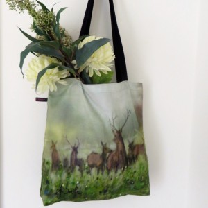 Norse Stag Tote Bag