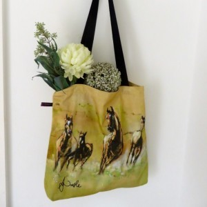 Freedom Field Tote Bag