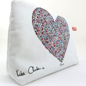 Ditsy Love Wash/Clutch Bag