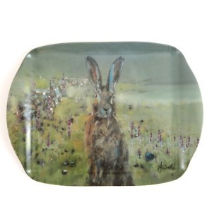 Sunrise Hare Scatter Tray