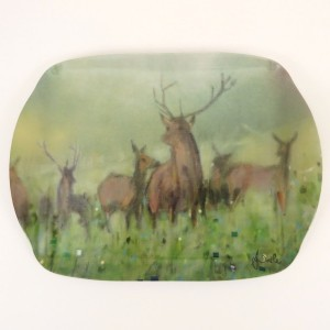 Norse Stag Medium Serving Tray