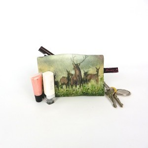 Norse Stag Lipstick Coin purse