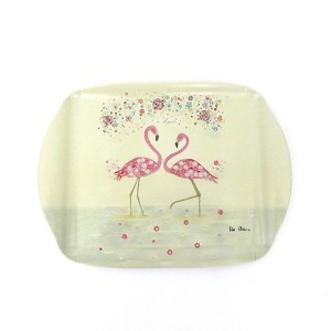 Pink Flamingo Scatter Tray