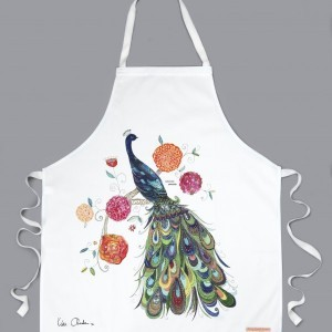 Splendid Peacock Apron