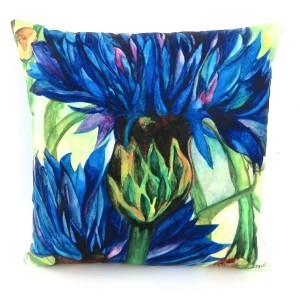 Cornflower Blue Cushion