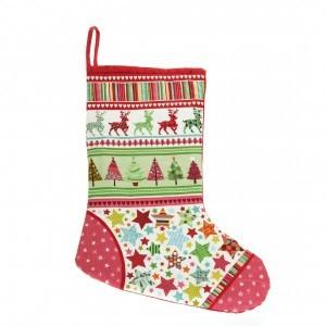 Heirloom Christmas stocking – RED