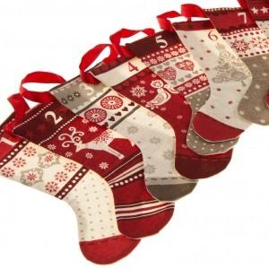 Nordic Christmas Stocking Bunting