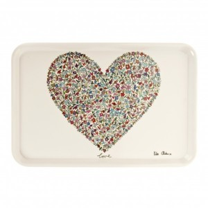 Ditsy Love Large Serving Tray