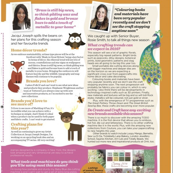 Create and Craft Magazine Spring 2016